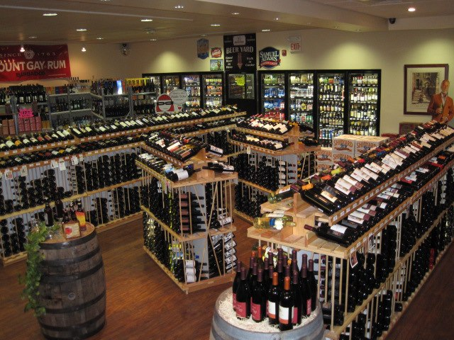 A wide selection of fine wine, beer and distilled spirits as well as home brew kits and supplies.